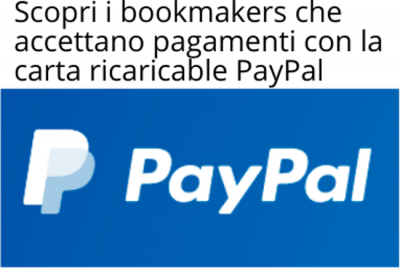 scommesse con paypal