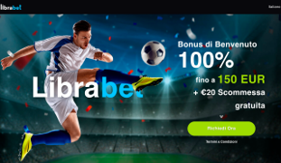 Librabet bookmaker Screenshot