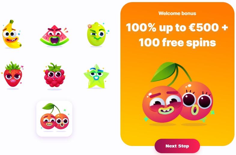 Nomini Casino Welcome Bonus 500€ + 100 free spins