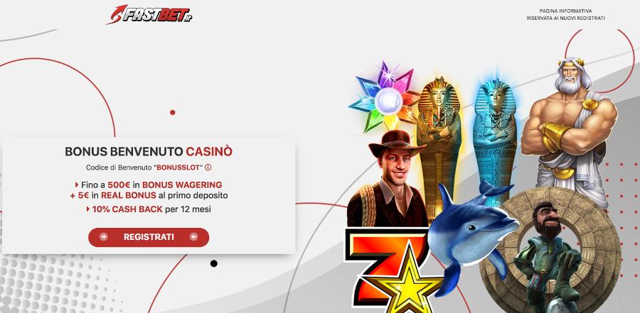 fastbet casino italiano aams